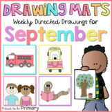 Back to School Fall Directed Drawings   bus, boy, girl, fi