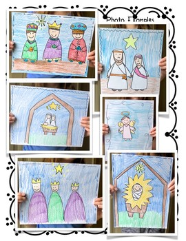 Directed Drawings for The Nativity