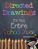 Directed Drawings for the Entire School Year Bundle & Dist