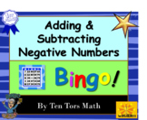 Integers | Adding & Subtracting directed negative numbers