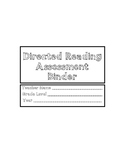 Developmental Reading Assessment Binder Pages (DRA)