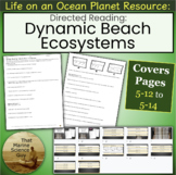 Directed Reading Beach Ecosystems for Life on an Ocean Pla