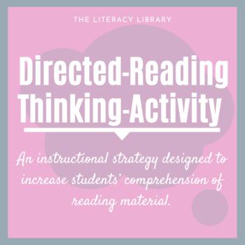 Directed Reading/Thinking Activity Bundle