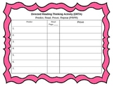 Directed Reading Thinking Activity Graphic Organizer