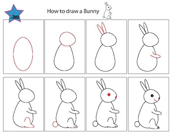 Directed drawing  Bunny
