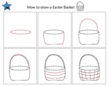 Directed drawing..Easter Basket