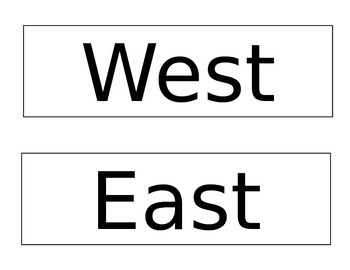 Direction Cards