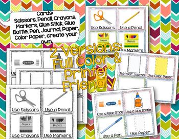 Direction Cards FREEBIE!