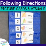 Directions Visual Picture Cards