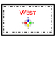 Direction Cards for Classroom