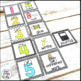 Direction Cards with Pictures {Black & White Theme w/ edit