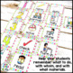 Direction Cards with Pictures {Multi-Polka Dot Theme w/ ed