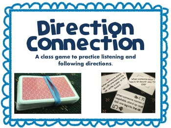 Direction Connection Card Game