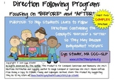 """COMPLEX Direction Following Program: Focusing on """"Before"""""""