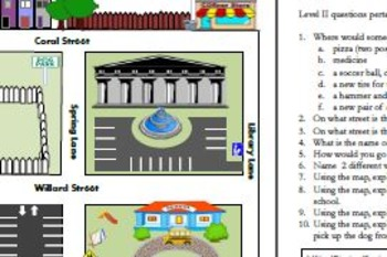 Direction-Following with Critical Thinking: Town Map