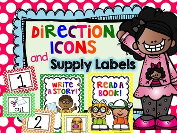 Direction Icons and Editable Supply Labels!