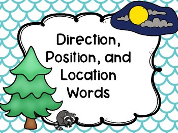 Direction, Position, and Location Words