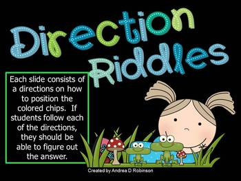 Direction Riddles!
