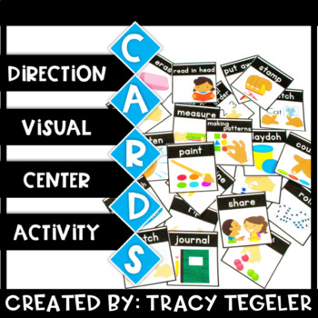 Direction Visual Activity Center Cards