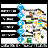 Visual Direction Activity Center Cards