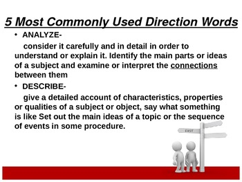 Direction Word Analysis Powerpoint