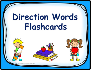 Direction Words Flashcards