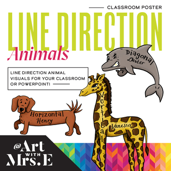 Directional Animals | Classroom Visuals