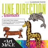 Directional Animals   Classroom Visuals