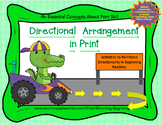 Directional Arrangement in Print: An Essential Concepts About Print Skill