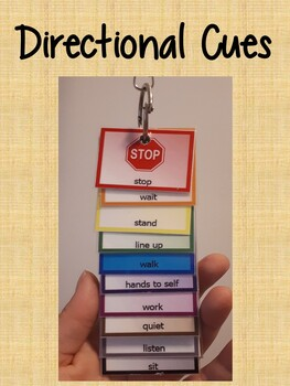 Directional Cues Keychain