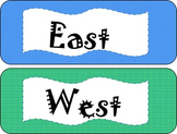 Directional (N, S, E, W) Cards
