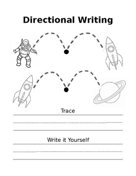 Directional Name Writing