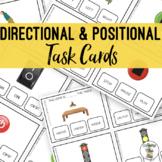 Directional & Positional Task Cards - Life Skills Vocational