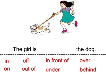 Directional / Positional Vocabulary