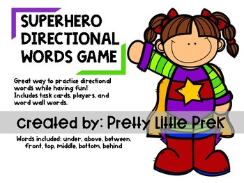 Directional & Positional Words Game