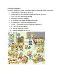 Directional prepositions Interpretive reading