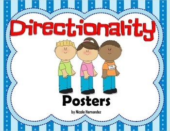 Reading Readiness {Directionality Posters}