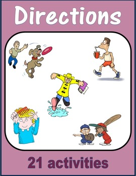 Directions (How Do You) - Skateboard, Ice-cream, Toothbrush, Bicycle