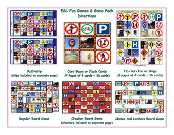 Directions 6 Board Game Bundle
