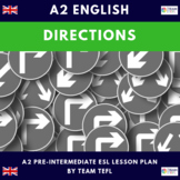 Directions A2 Pre-Intermediate Lesson Plan For ESL