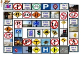 Road Signs & Directions Animated Board Game