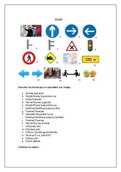 Directions / En Ville / In Town