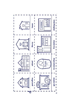 Directions Folder Game