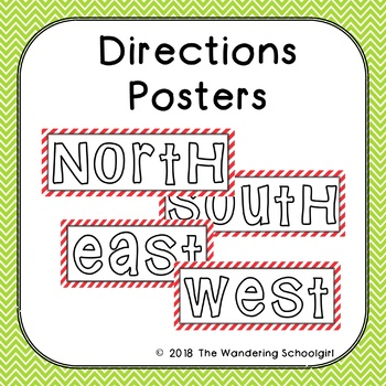 Directions Posters