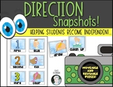 Directions {Snapshots} Reusable - Steps for Activities Kin