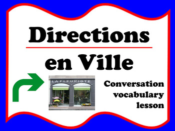 Directions en ville (French)