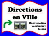 Directions en ville (French)