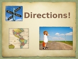 Directions for Beginner ESL class