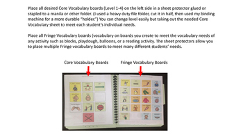 Directions for Core-Fringe Communication Board