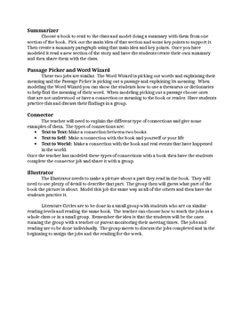 Directions for Literature Circles Page 2